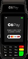 Maquininha C6 Pay Essencial do C6 BANK