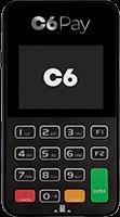 Maquininha C6 Pay SuperMini do C6 BANK