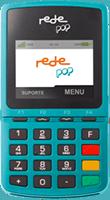 Maquininha Rede Pop chip + Wi-Fi