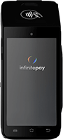 Maquininha InfiniteBlack Smart da InfinitePay