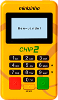 Maquininha Minizinha Chip 2