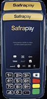 Maquininha Safrapay com Bobina 3G + WiFi