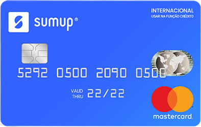 Cartão Pré-Pago SumUp